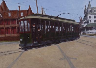 Vintage Train Series: Ocean Street Trolley