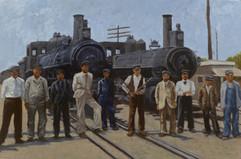Vintage Train Series: Immigrant Workers