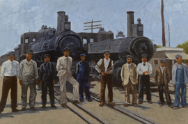 Vintage Train Series: Immigrant Workers