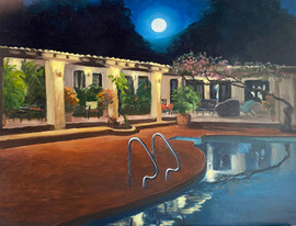 Mexico Series: Moon Over Casa Raab