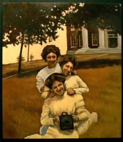 Three Sisters and a Camera