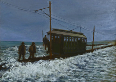 Vintage Train Series: Storm, Cape May
