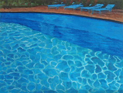 Mexico Series: Pool & Light