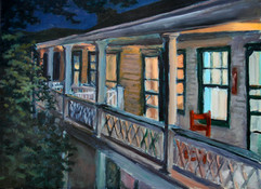 Back Porch at Night #2