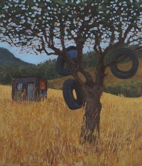 Mexico Series: Tire Tree