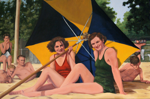 Vintage Beach Series: Beach Girls