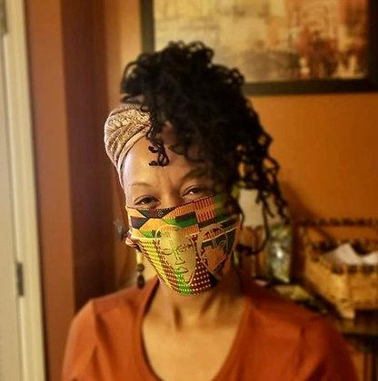 Kente Mask