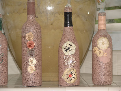 Incense burning bottles