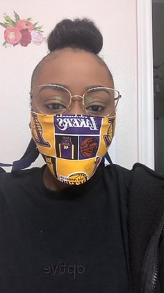 Lakers Mask