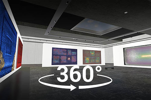 360 VIDEO  EXTREME  ART GALLERY