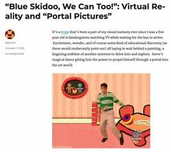Blue Skidoo, We Can Too!