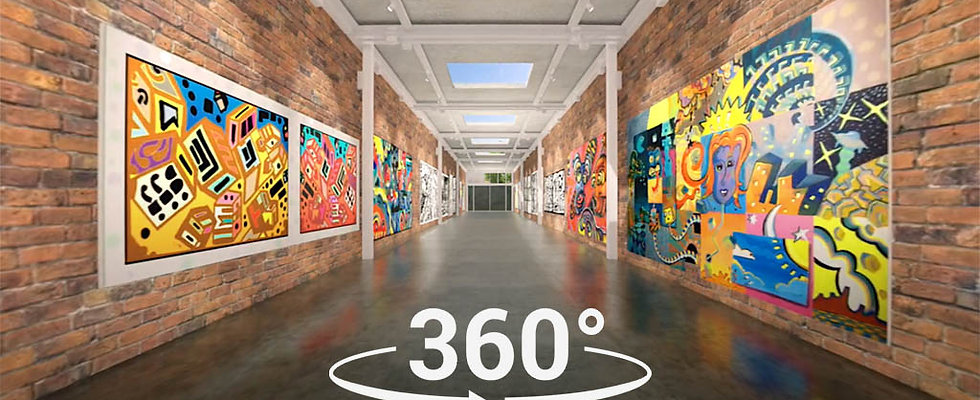 360 VIDEO  BRICK ART GALLERY