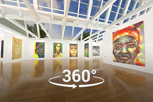 360 VIDEO  CLASSIC  ART GALLERY
