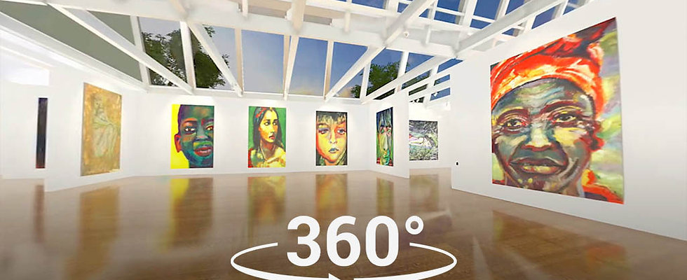 360 VIDEO  CLASSIC  ART GALLERY