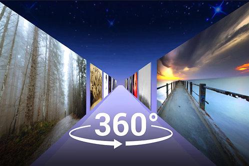 360 VIDEO COSMIC  ART GALLERY