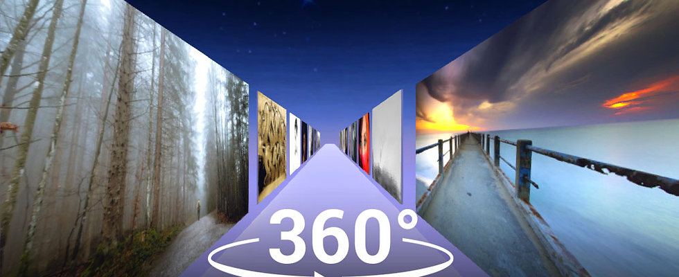 360 VIDEO COSMIC  ART GALLERY