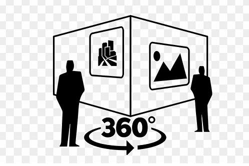 360 VIDEO  CUSTOM  ART GALLERY