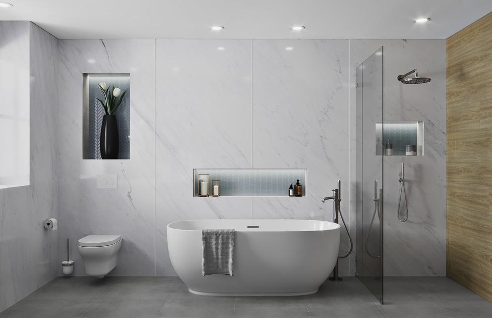 Wimbledon Master Bathroom