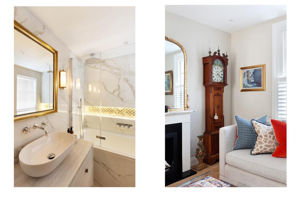 Bathroom & Living Area