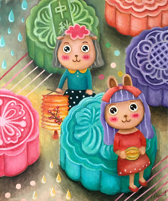 Sweety Babies - Mid Autumn Festival