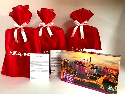 Press Kit Desafio de Uma Semana AliExpress