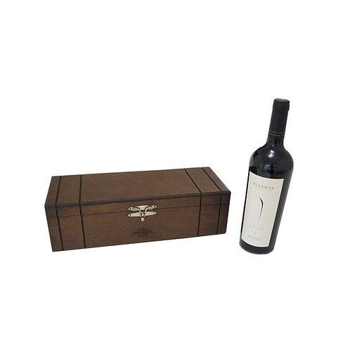 Vinho em Caixa de Madeira Reflorestada