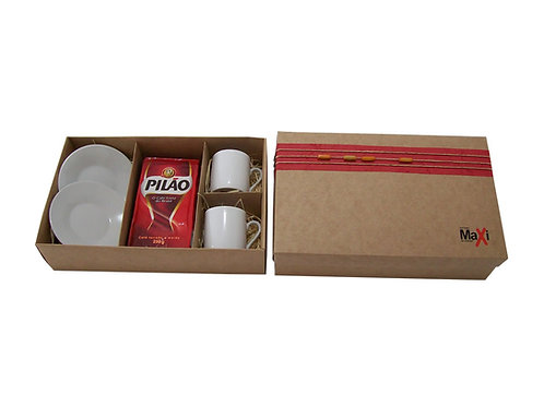 Kit Café em Caixa Personalizada
