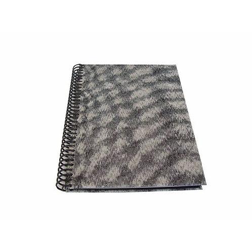 Caderno com Capa Revestida com Tecido Totalmente Sustentável