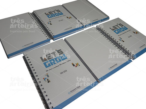 Caderno Personalizado Kimberly Clark