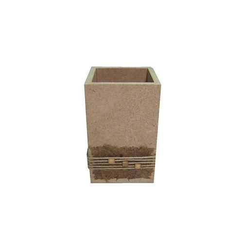 Porta Lápis em Madeira Ecológico