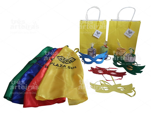 Kit Carnaval Infantil Shopping Plaza Sul