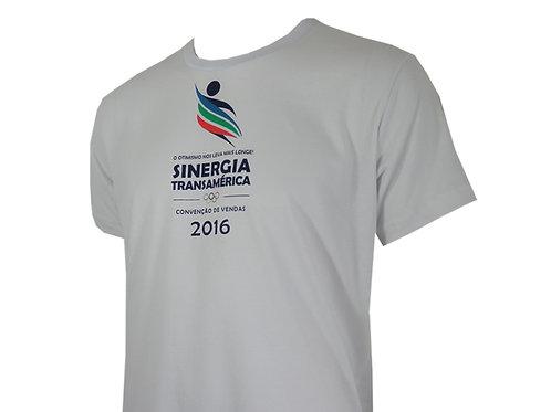 Camiseta Branca para Convenção de Vendas