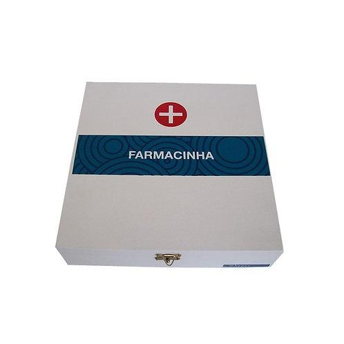 Caixa para Medicamentos em Madeira
