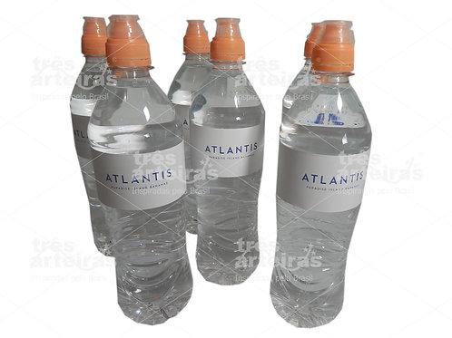 Garrafa de Água com Rótulo Personalizado
