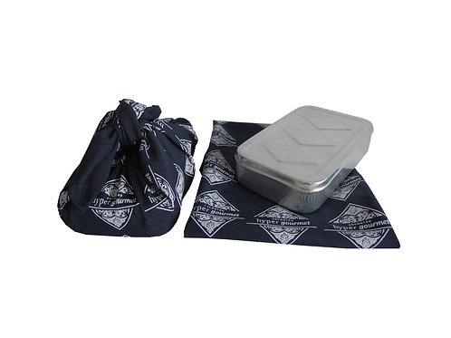 Marmita Embalada em Tecido Personalizado