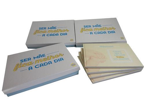 Caixa Rígida com Manual para o Bêbe