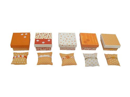 Mini Caixas Revestidas com Tecido