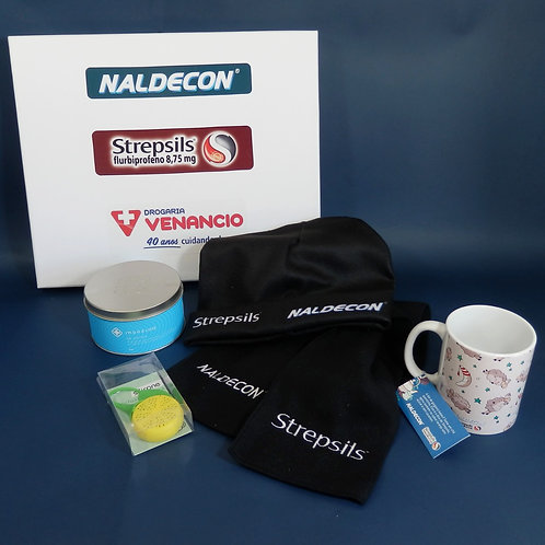 Press Kit Strepsils e Naldecon