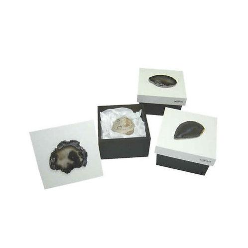 Peso de Papel em Pedra Brasileira em Caixa Brasileira