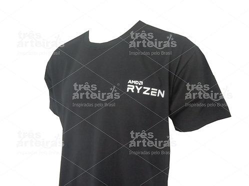Camiseta com Logo no Peito