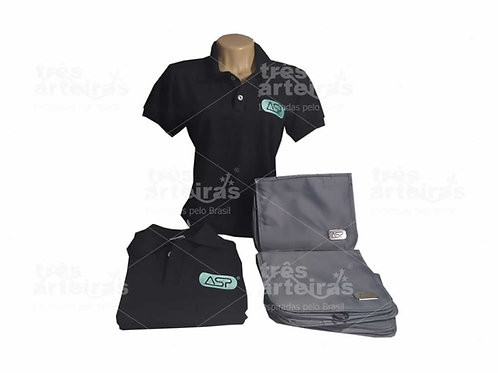 Kit Camisa Polo e Necessaire