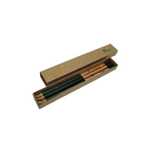Lápis Preto com Estojo