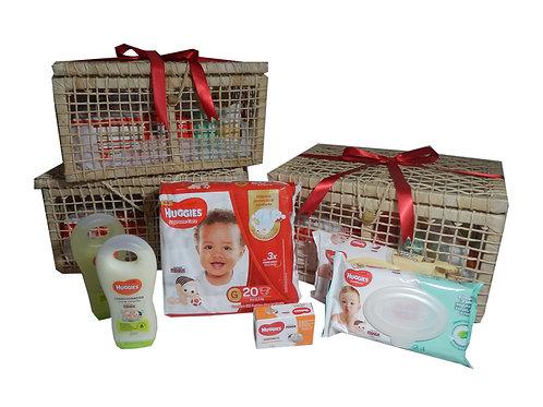 Press Kit para Bebê Huggies