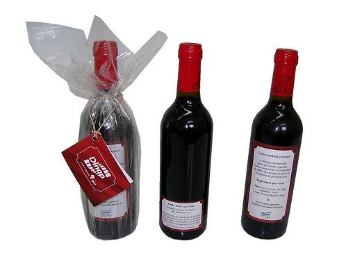Vinho com Rótulo Personalizado