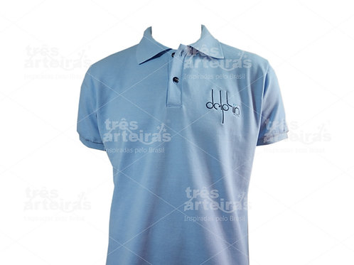 Camisa Polo com Bordado