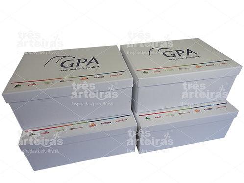 Caixa Rígida Branca Personalizada