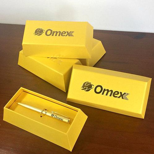 Caixa Barra de Ouro Omex