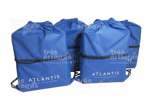Mochila Saco com Bolso Atlantis