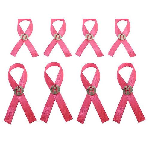 Símbolo do Câncer de Mama com Pingente