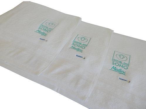 Toalha de Rosto com Logo Bordado